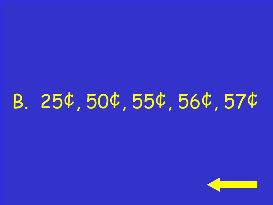 Click to see answer How would you count on to find the total of these coins.