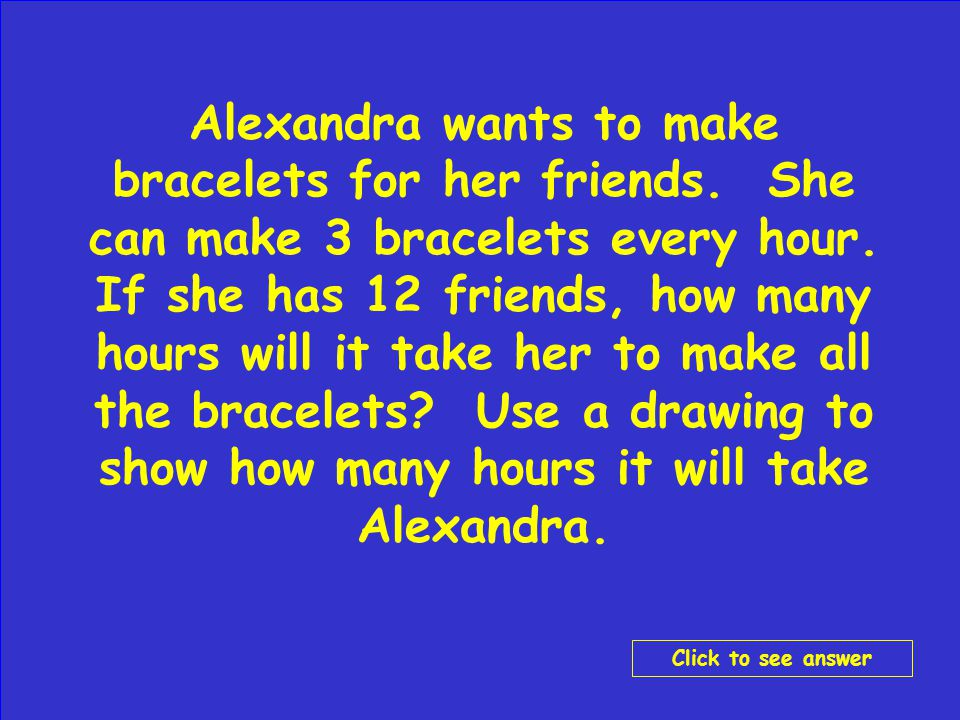 Make your wager Click to go to Final Jeopardy