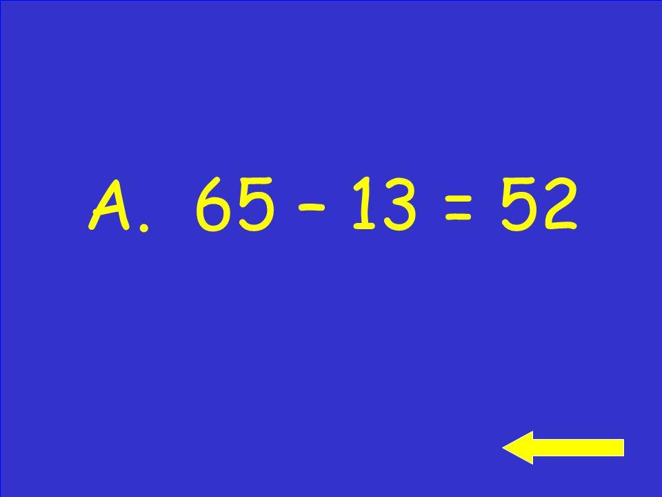 What subtraction fact is related to this addition sentence.