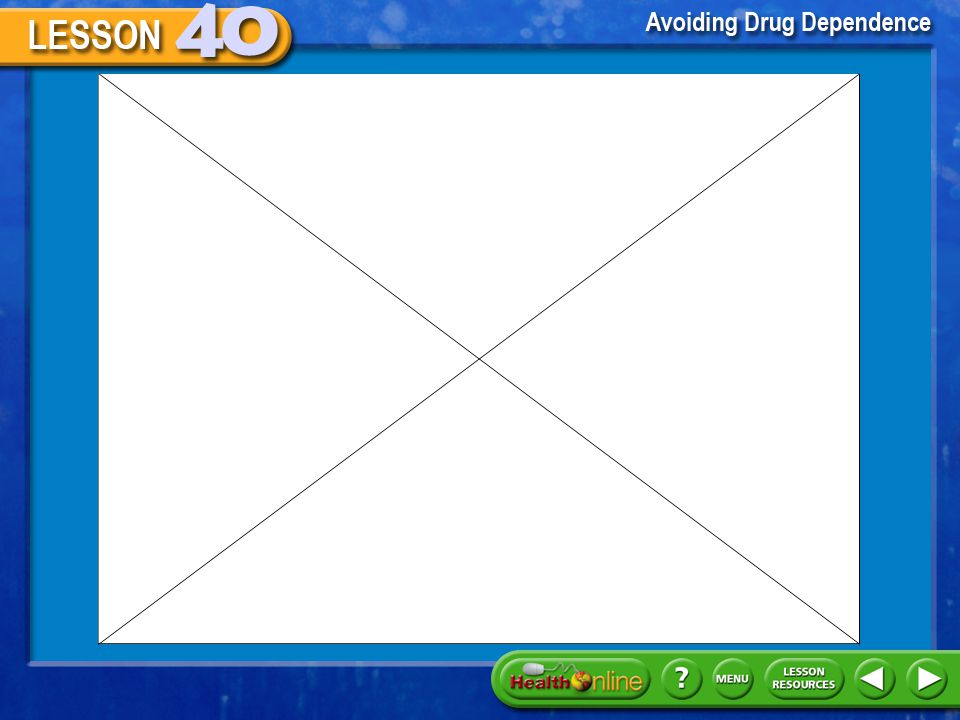 Click the mouse button or press the space bar to display information. Risk Factors for Drug Use Warning Signs Recognize these warning signs of drug us