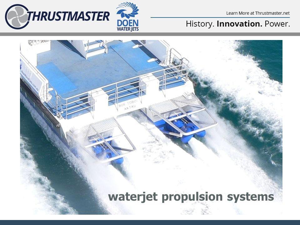 waterjet propulsion systems