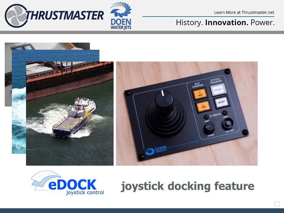 joystick docking feature