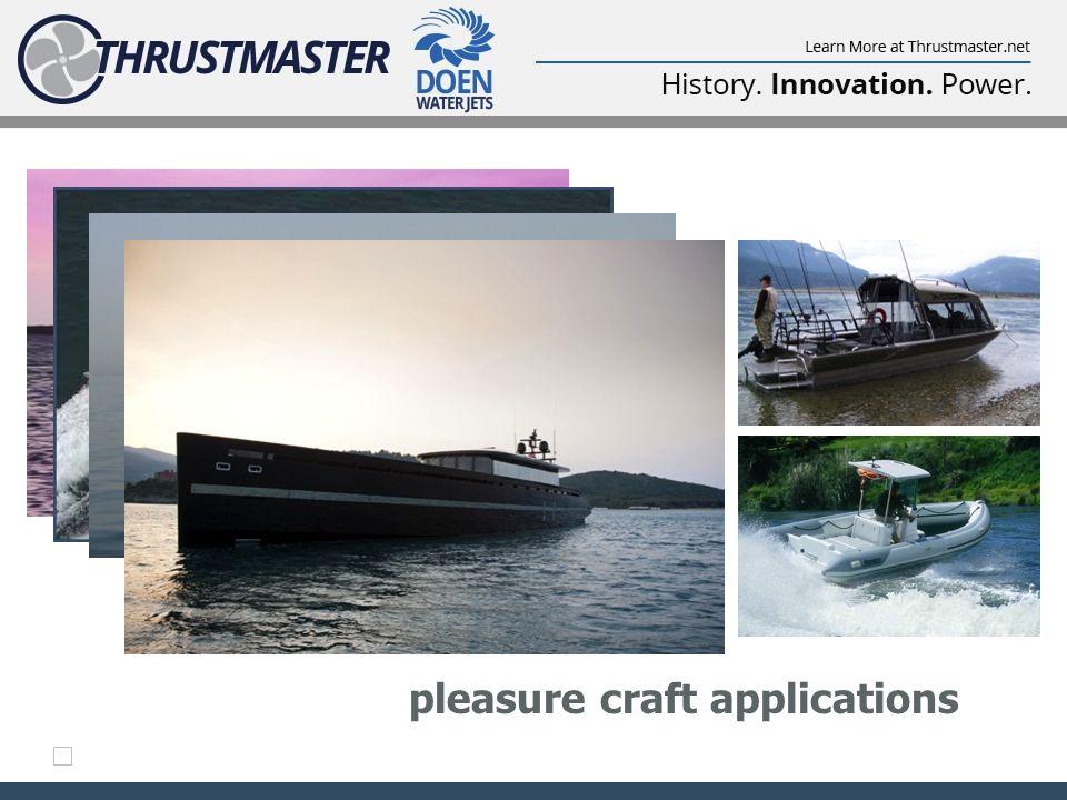 pleasure craft applications