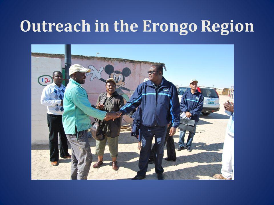 Deputy Speaker in Swakopmund, Erongo Region visiting and Informal Settlement