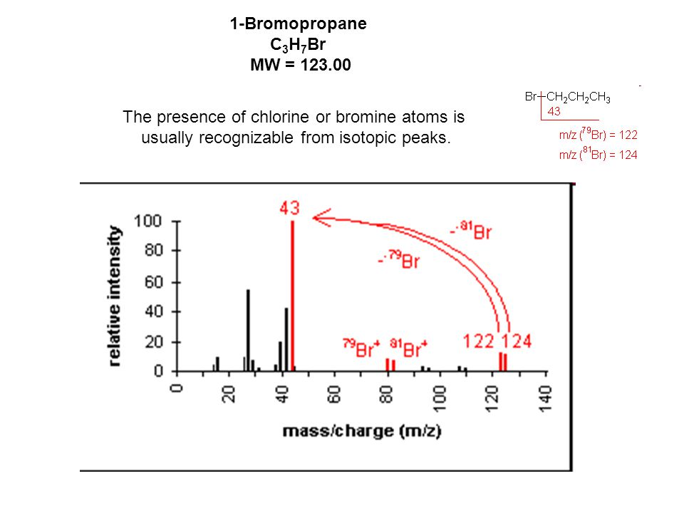 Major fragmentation peaks result from cleavage of the C-C bonds adjacent to the carbonyl.