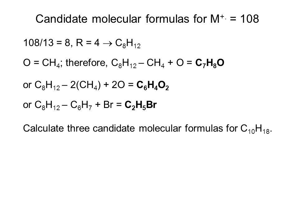 When an odd amu M +.is seen, suspect one nitrogen or an odd multiple.