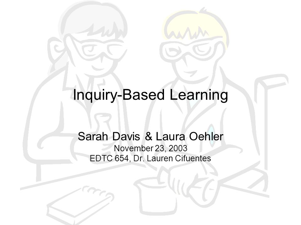 What is Inquiry.