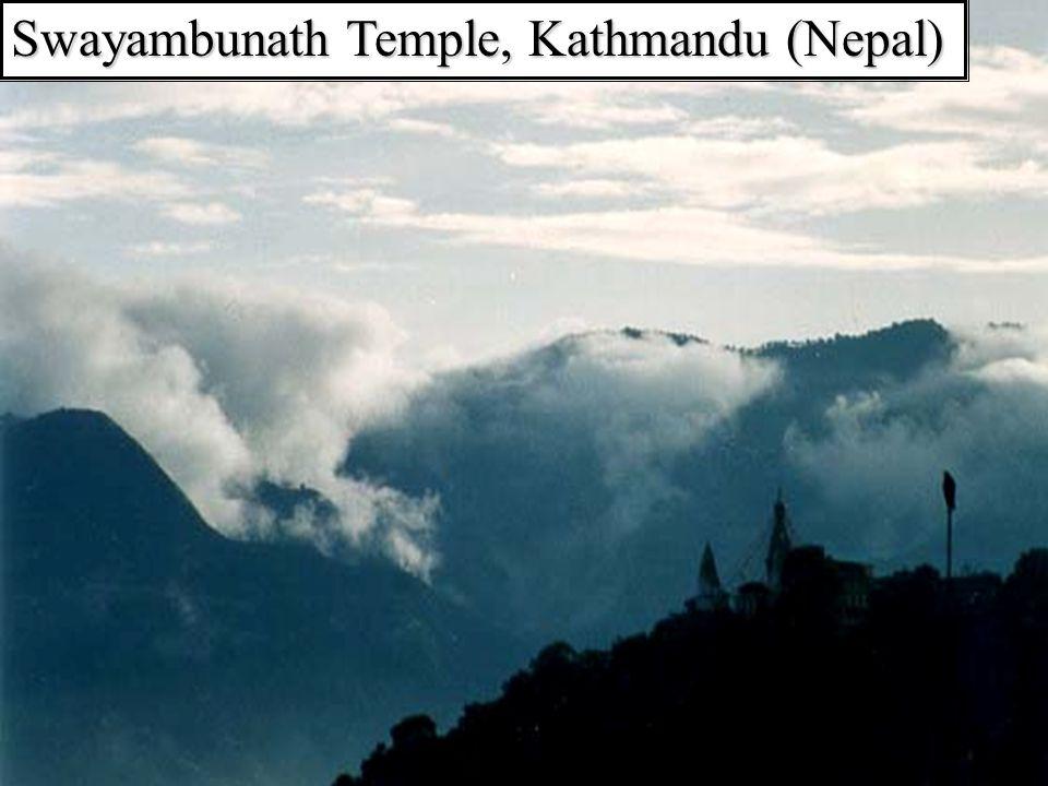Swayambunath Temple, Kathmandu (Nepal)