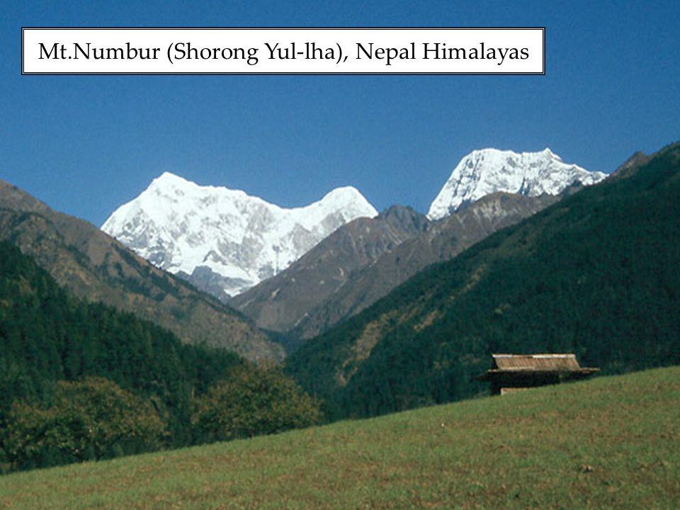 Mt.Numbur (Shorong Yul-lha), Nepal Himalayas