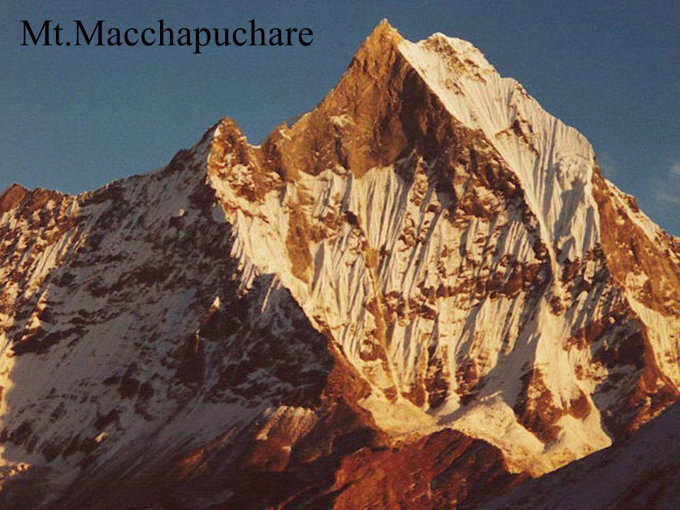 Mt.Macchapuchare