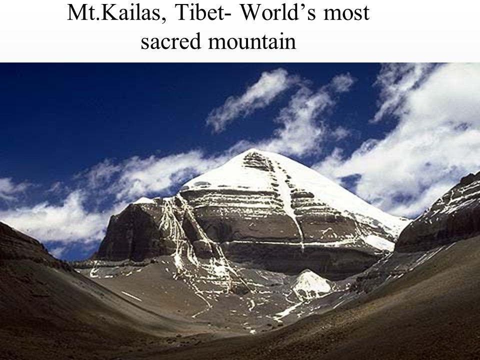 Mt.Kailas, Tibet- World's most sacred mountain
