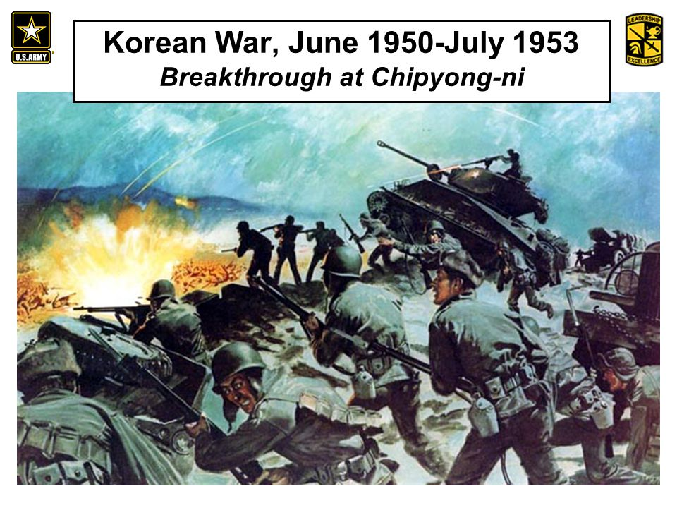 An Introduction to the History and Heritage of the United States Army Korean War, June 1950-July 1953 Breakthrough at Chipyong-ni