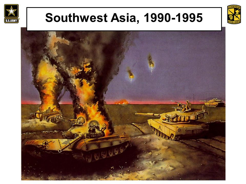 An Introduction to the History and Heritage of the United States Army Southwest Asia, 1990-1995
