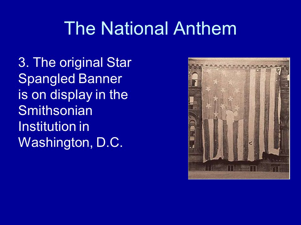 The National Anthem 3.