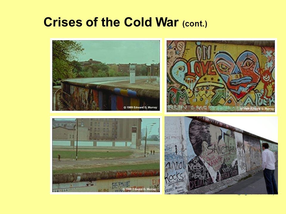 Crises of the Cold War (cont.) (pages 726–728)