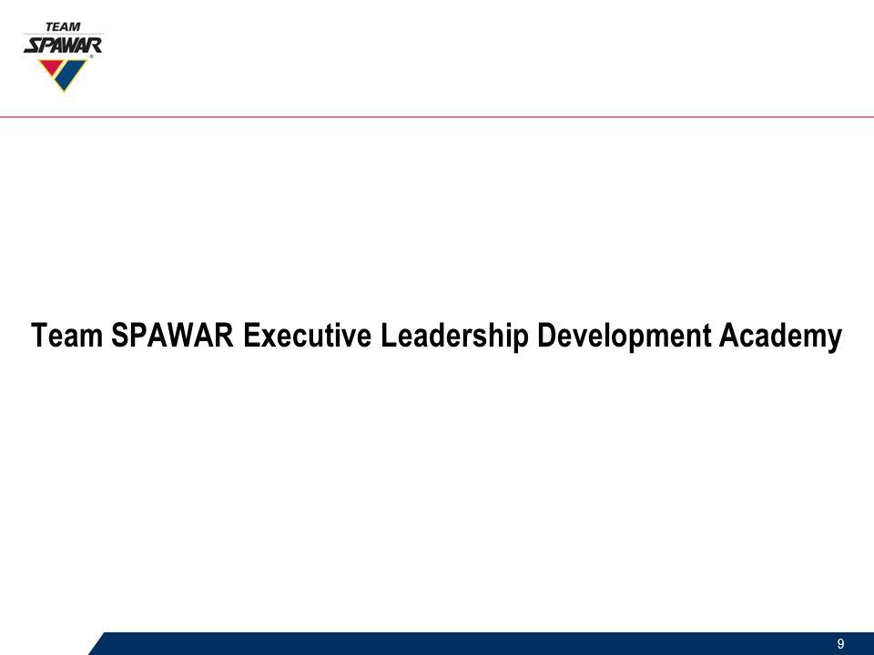 9 Team SPAWAR Executive Leadership Development Academy