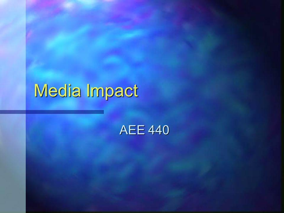Media Impact AEE 440