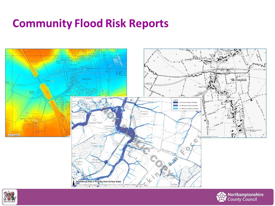 Community Flood Risk Reports