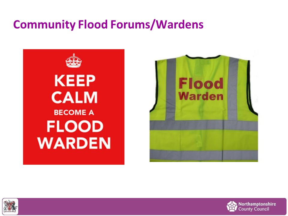 Community Flood Forums/Wardens