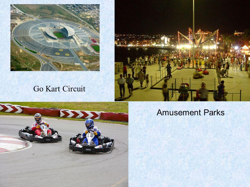 Go Kart Circuit Amusement Parks