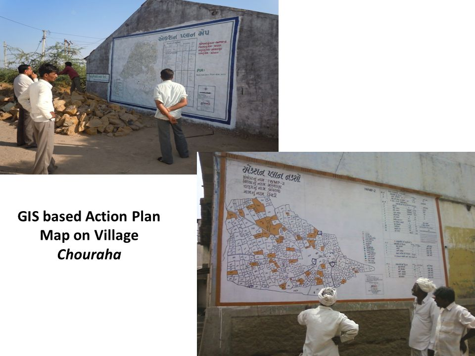 GIS based Action Plan Map on Village Chouraha