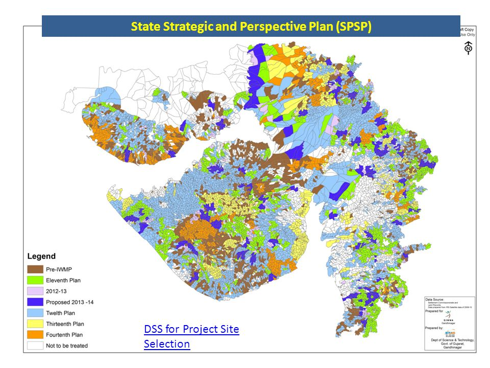 State Strategic and Perspective Plan (SPSP) DSS for Project Site Selection