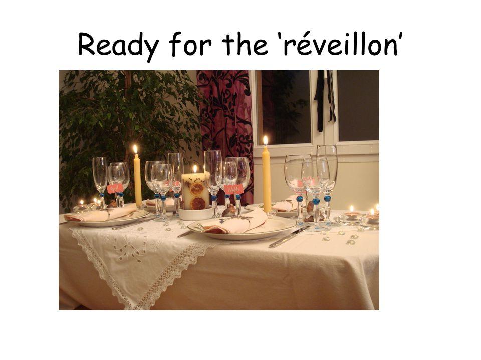Ready for the 'réveillon'