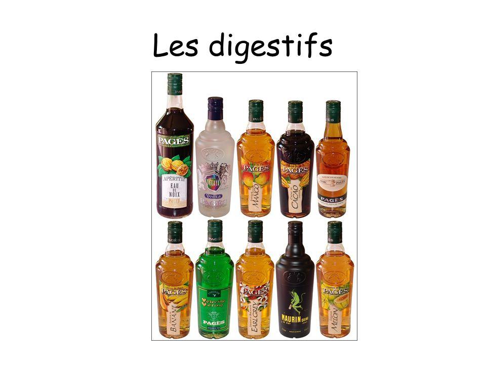 Les digestifs