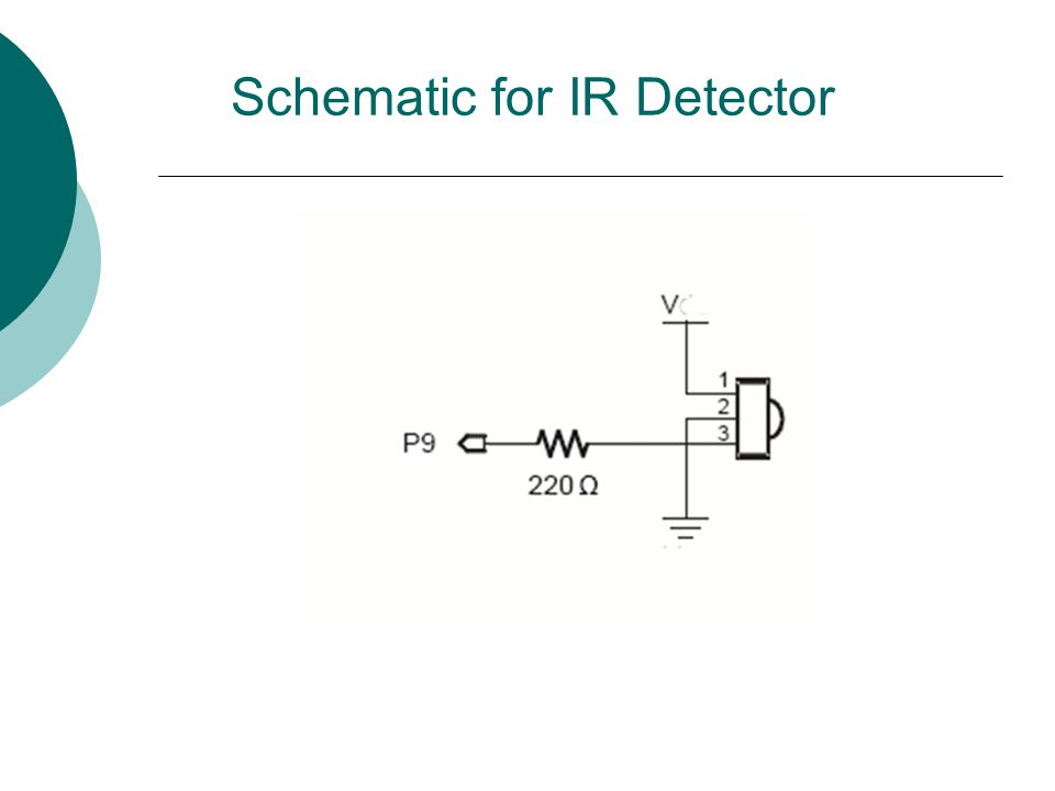 Schematic for IR Detector
