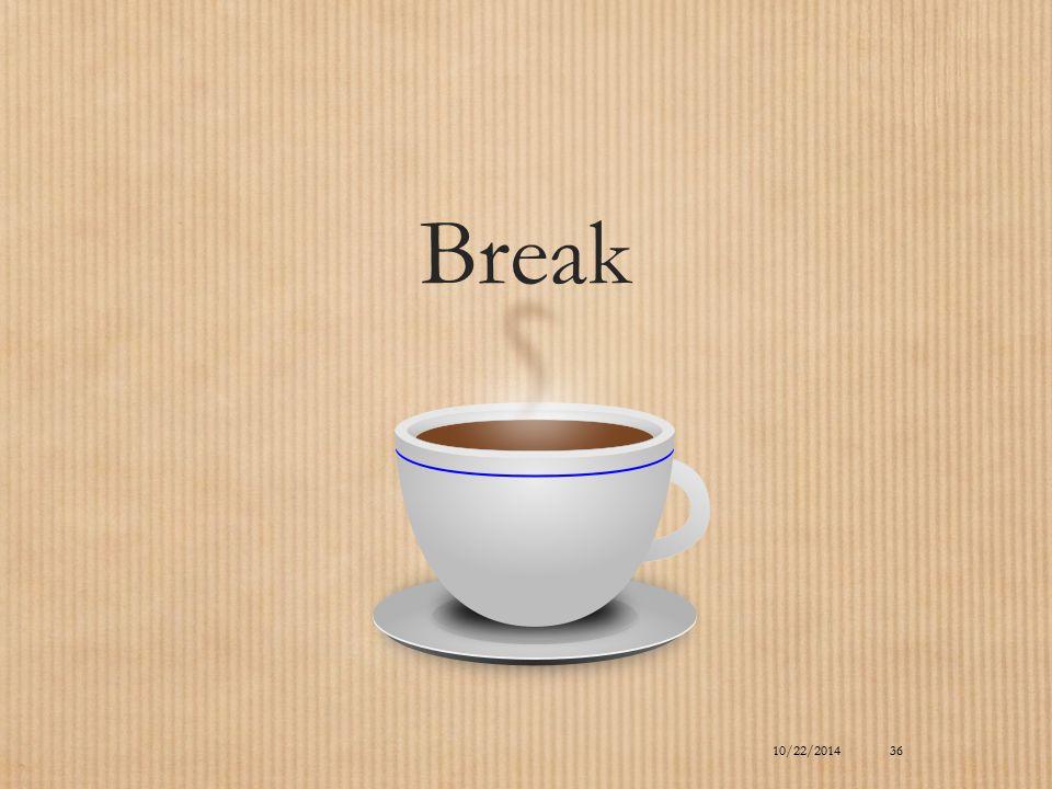 10/22/2014 Break 36