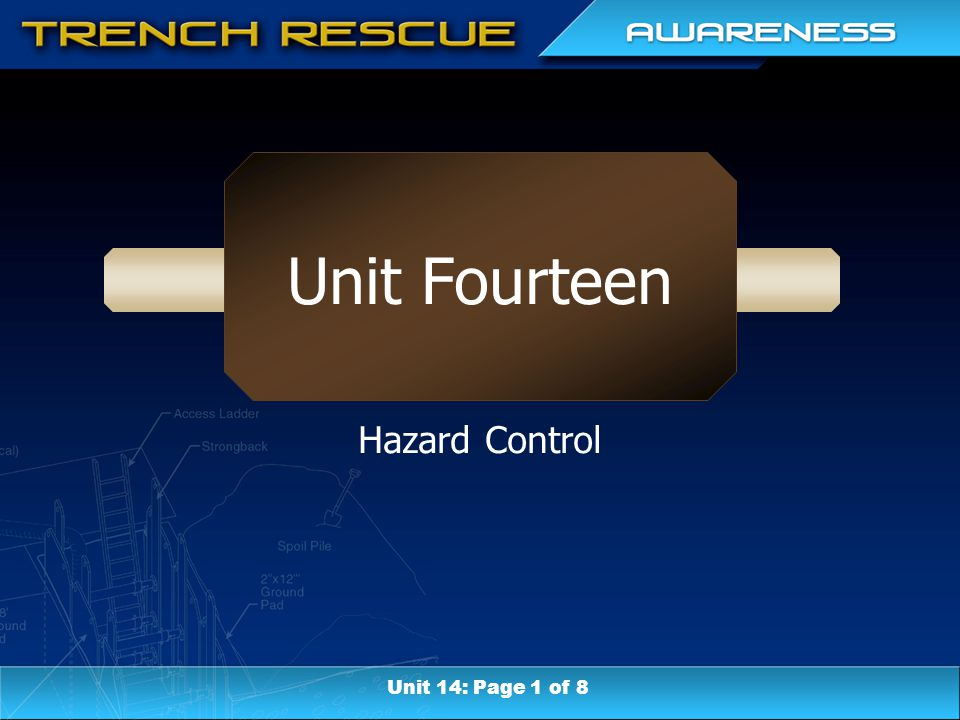 Unit Fourteen Hazard Control Unit 14: Page 1 of 8