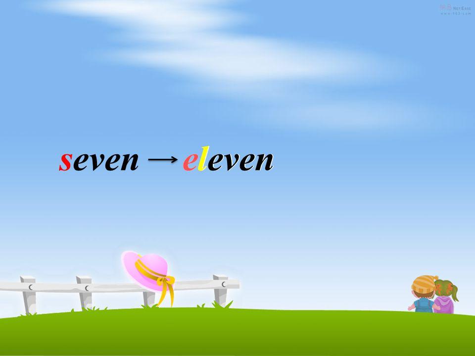 onetwothreefourfive six seveneightnineten eleven