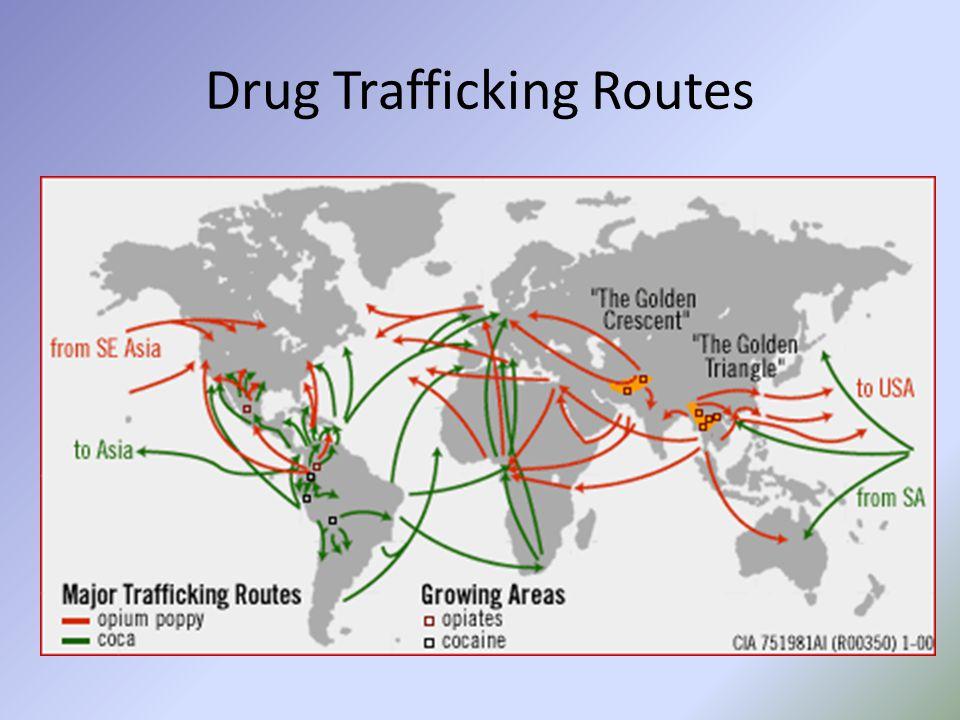 Drug Trafficking Routes
