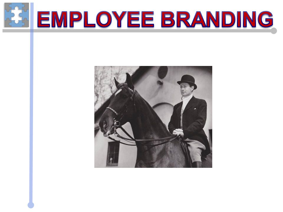 Employee Education Strong brands need people with a clear point of view and the passion to express Educate for all involved process i.e.