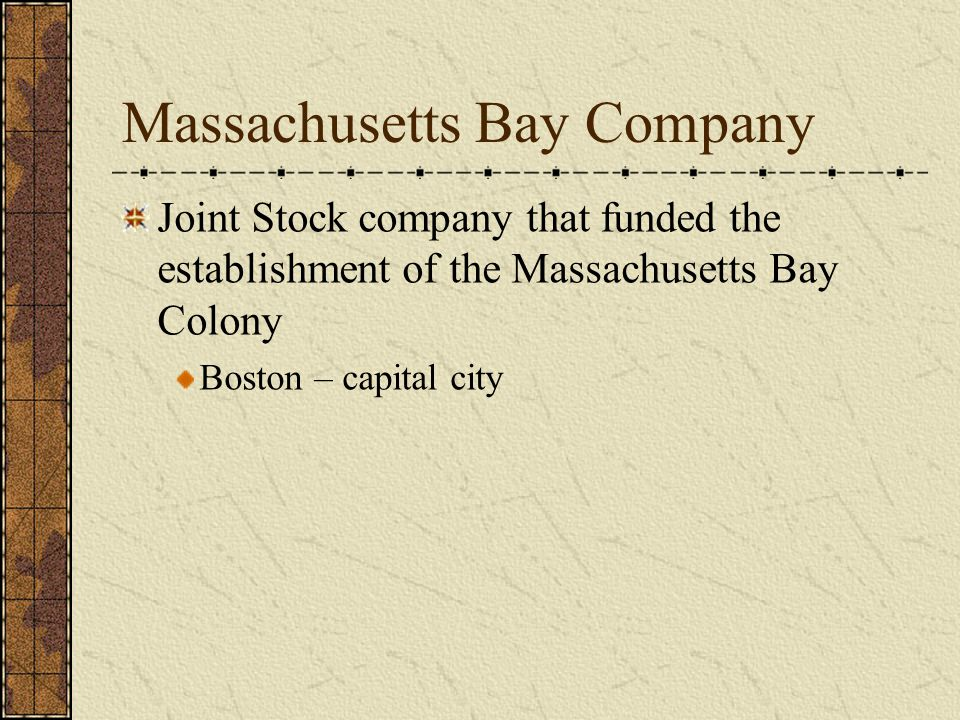 SECOND SETTLEMENT BOSTON FOUNDED 1630 LEADER JOHN WINTHROP