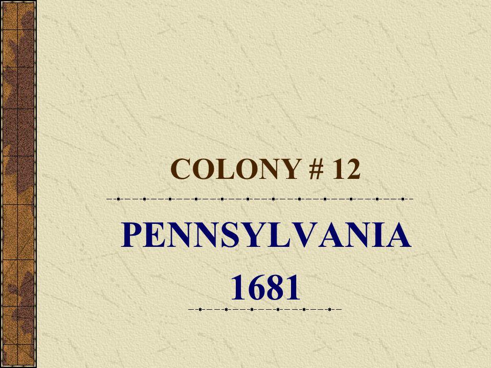 NEW JERSEY FIRST SETTLEMENT East Jersey – Carteret West Jersey – Salem FOUNDED 1664 LEADER Lord Berkeley Sir Carteret