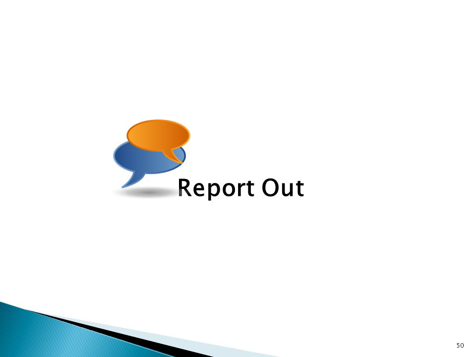 Report Out 50