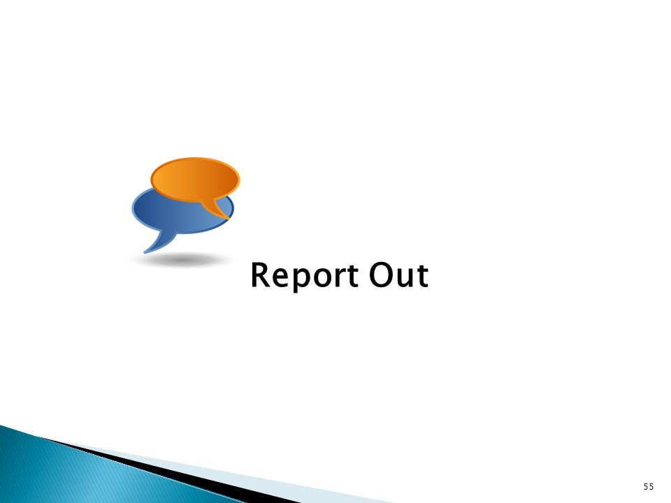 Report Out 55