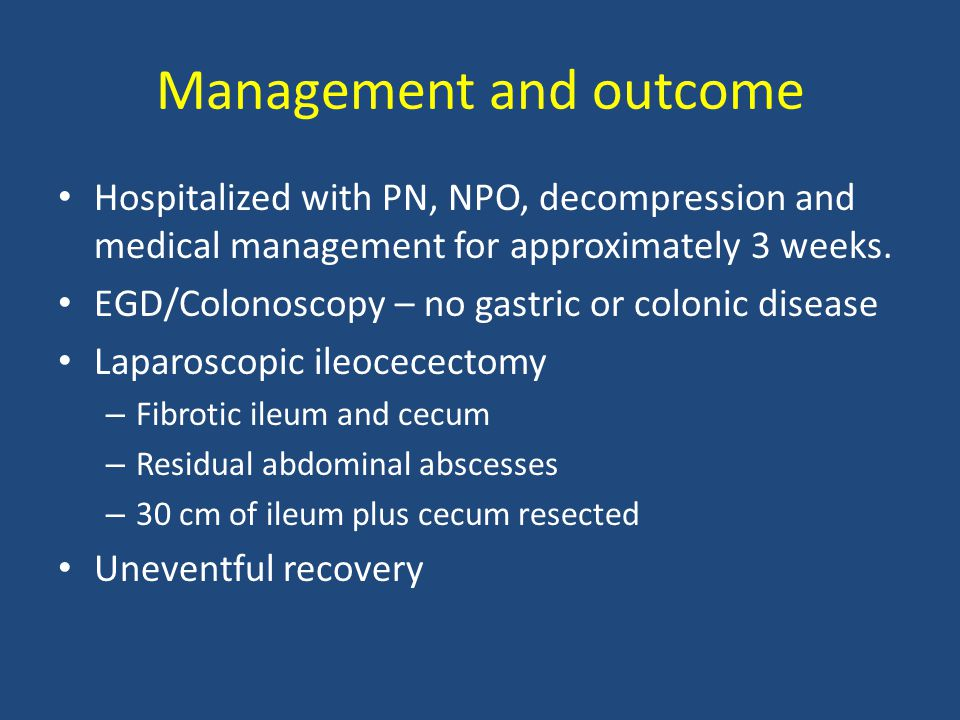 Postoperative management How would you monitor patient postoperatively.
