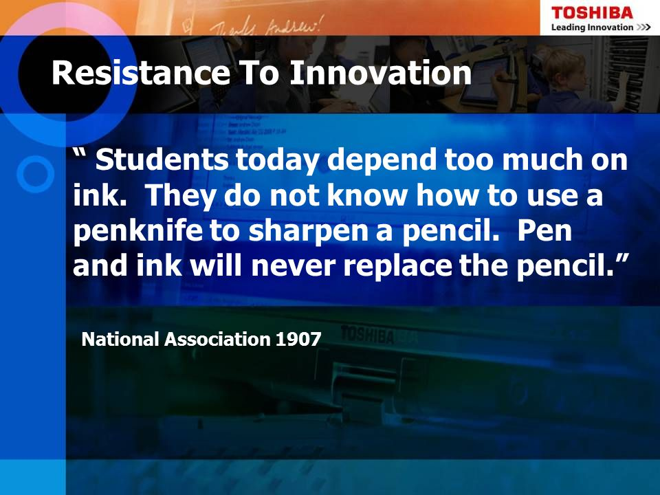 Students today depend on store bought ink.They do not know how to make their own.