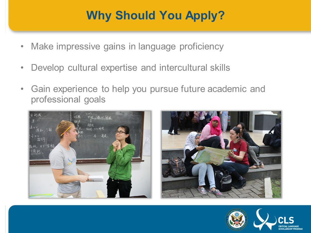 Why Should You Apply.