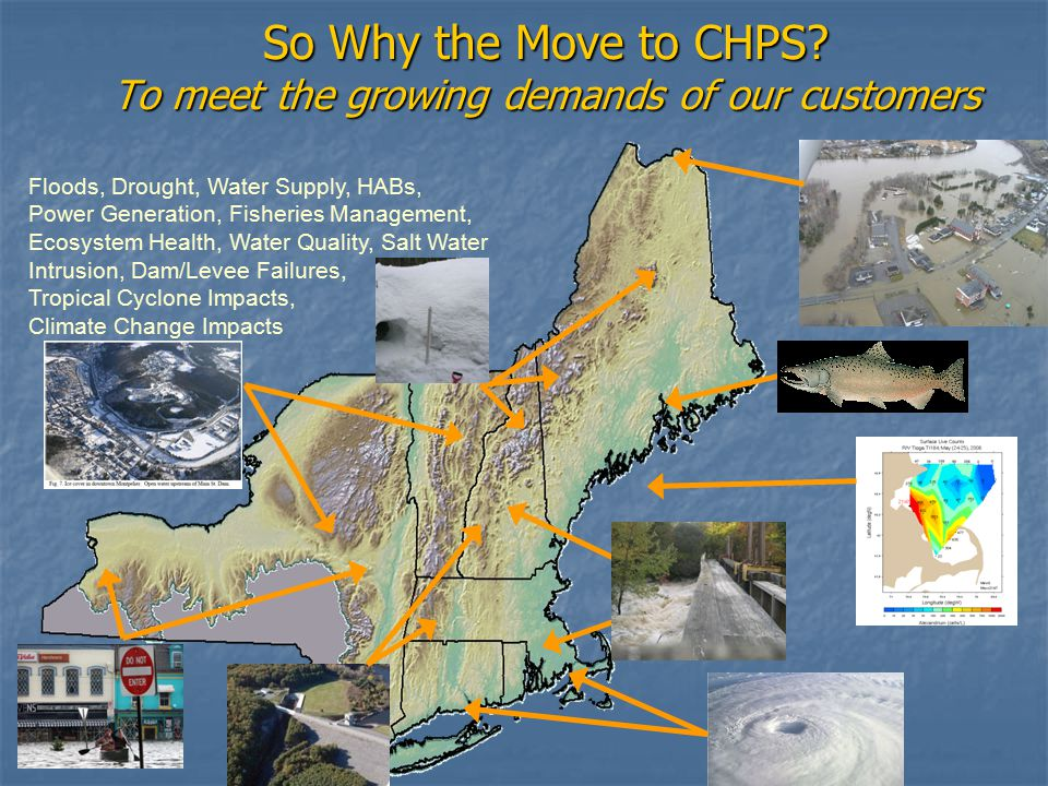 So Why the Move to CHPS.