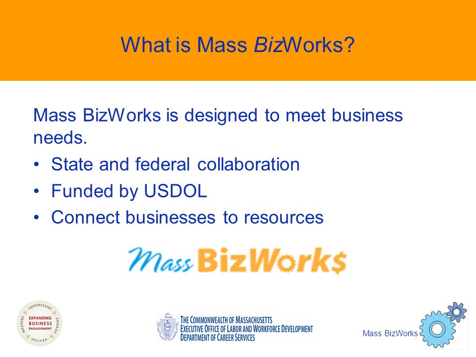 What is Mass BizWorks. Mass BizWorks is designed to meet business needs.