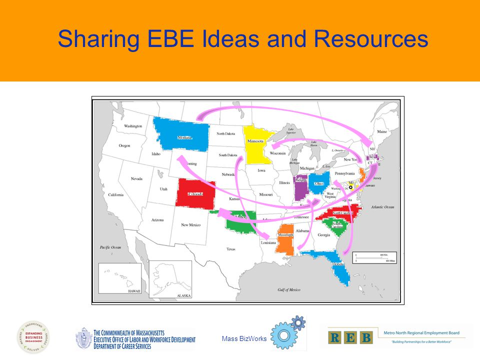 Sharing EBE Ideas and Resources Mass BizWorks