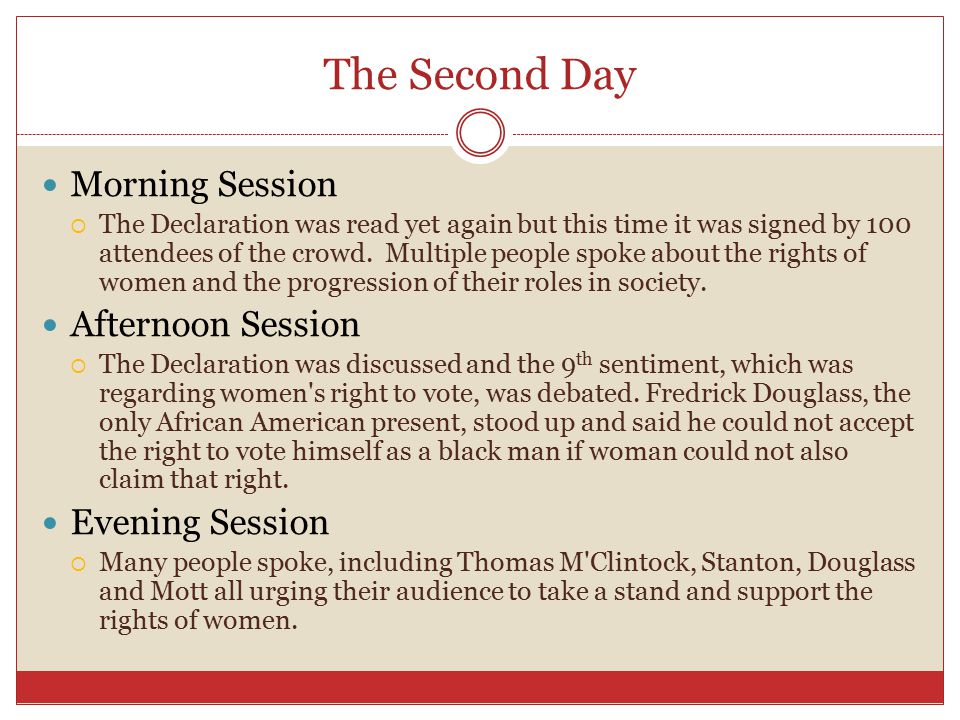 What did the convention accomplish.It brought light on the women's suffrage.