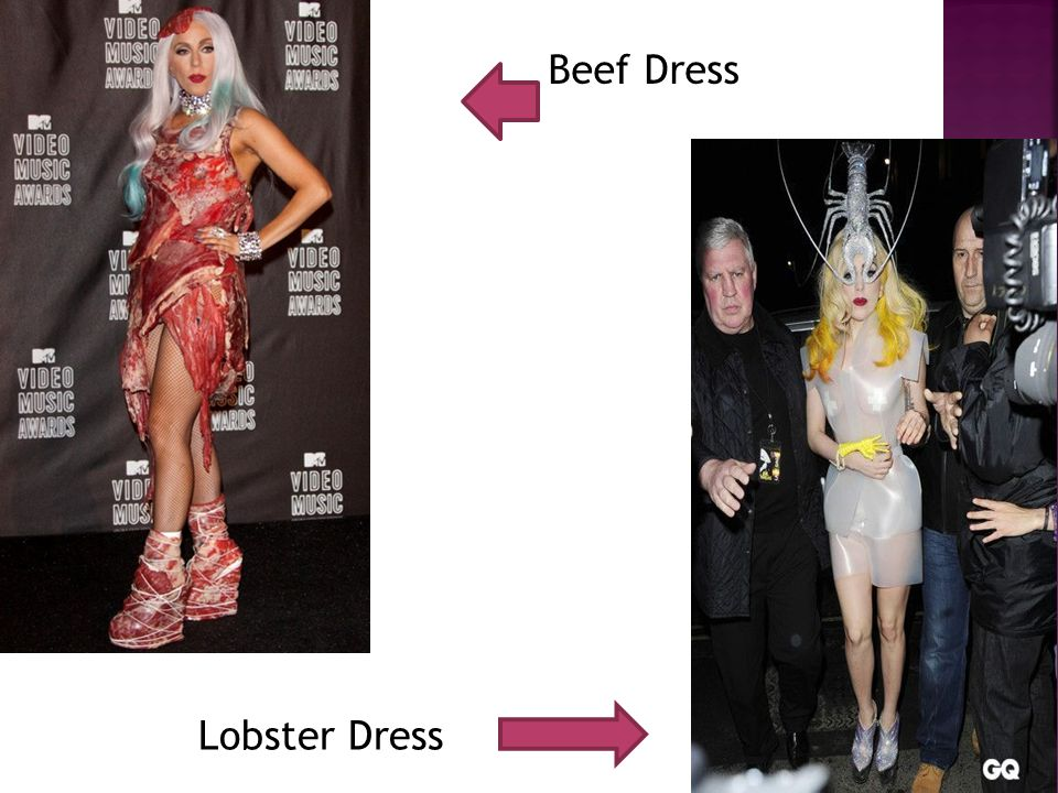 Beef Dress Lobster Dress