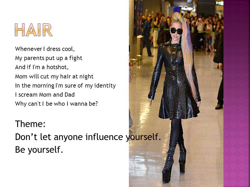 以 Lady Gaga 整體造型帶動的流行風潮之探討 作者 : 邱詩媛 & 唐道凱 & 吳怡臻 http://lib.shute.kh.edu.tw/essay/shs1000331/333b.pdf 另類時尚起源 ── Lady GaGa( 女神卡卡 ) 作者 : 鄭依芸 & 曹玉珍 & 楊絢任 http://www.shs.edu.tw/works/essay/2011/11/2011111109273740.pdf YOUTUBE Lady Gaga : 你是生來如此 !!@ Monster ball Tour 中文字幕 http://www.youtube.com/watch?v=c26YwVNWysc 110709 音樂飆榜 Lady Gaga 女神卡卡專訪 http://www.youtube.com/watch?v=ATst_ctAq90