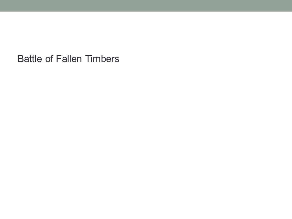 Battle of Fallen Timbers