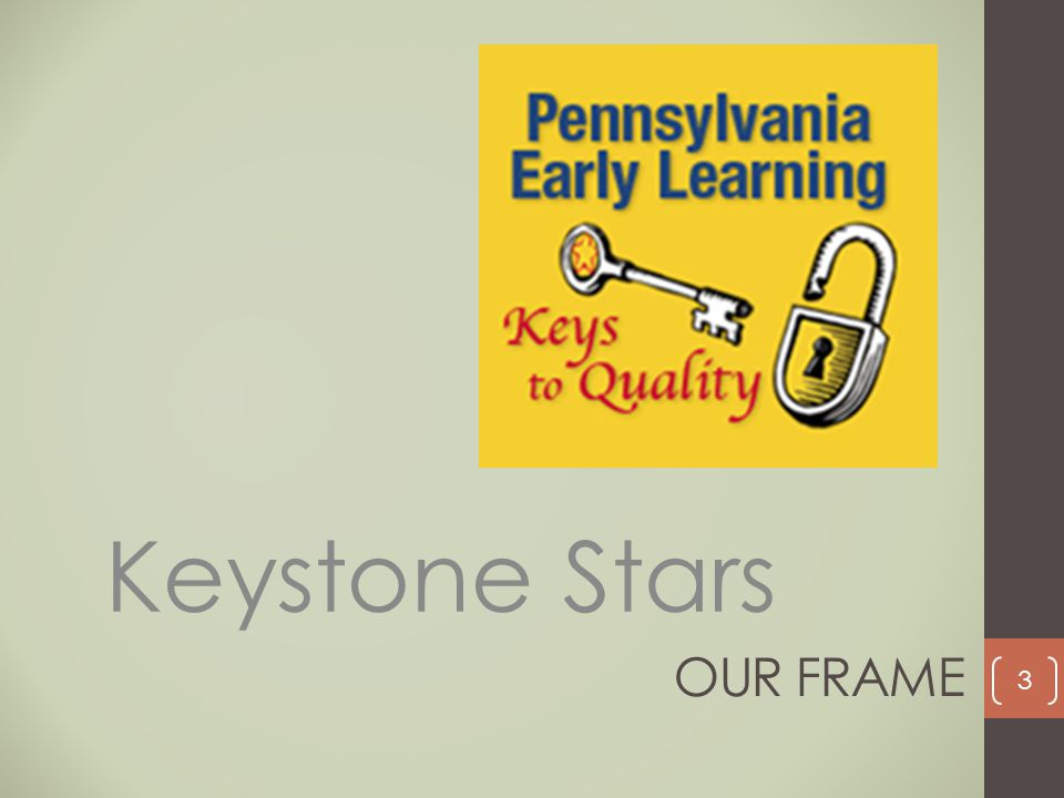 OUR FRAME Keystone Stars 3