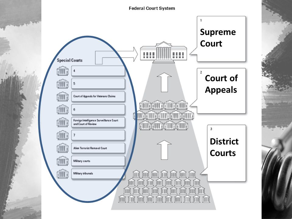District Courts Court of Appeals Supreme Court